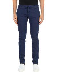 Entre Amis Casual Pants - Blue