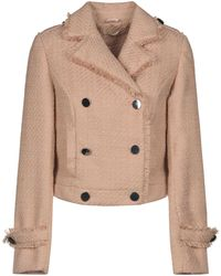 SCEE by TWINSET Suit Jacket - Pink