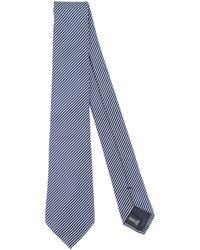 Giorgio Armani Cravate - Bleu