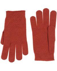 Giorgio Armani Gloves - Red
