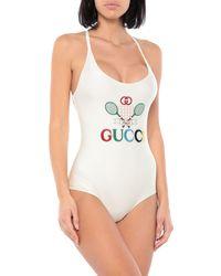 Gucci Badeanzug - Weiß
