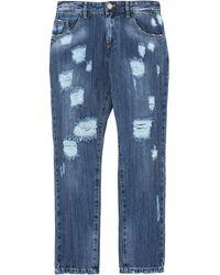 Alessandro Dell'acqua Pantaloni jeans - Blu