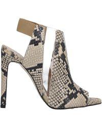 Wo Milano Sandals - Natural
