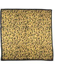 Anine Bing Square Scarf - Yellow