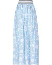 Biancalancia Long Skirt - Blue