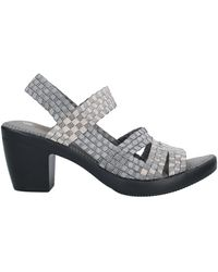 Bernie Mev Sandals - Gray