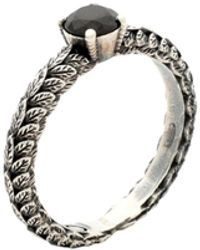 First People First Ring - Mettallic