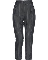 Angela Davis Casual Trouser - Black