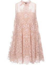 RED Valentino Kurzes Kleid - Pink