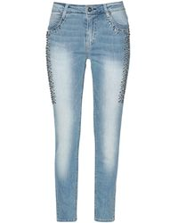 Jolie By Edward Spiers - Denim Trousers - Lyst