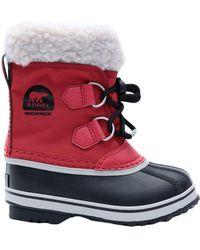 """Sorel Bottes """"winter Carnival"""" - Rouge"""