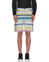 Just Cavalli Shorts et bermudas - Blanc