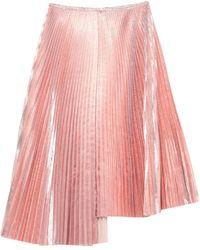 Cedric Charlier Midi Skirt - Pink