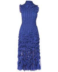 Alexander McQueen Long Dress - Blue