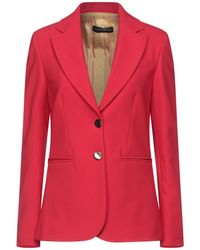 Alessandro Dell'acqua Suit Jacket - Red