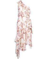 Johanna Ortiz Knee-length Dress - Pink