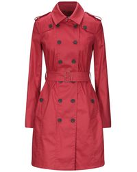 Annie P Overcoat - Red