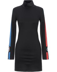 Marcelo Burlon Short Dress - Black