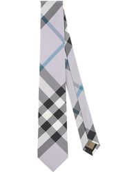 Burberry Ties & Bow Ties - Purple