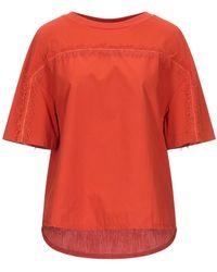 Alpha Studio Camiseta - Rojo