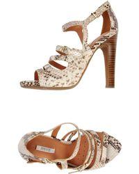 Geox High-heeled Sandals - Natural