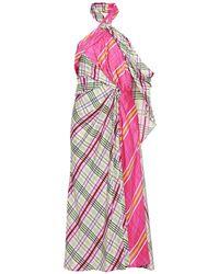 Prabal Gurung Midi Dress - Pink