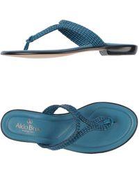 Aldo Brue' - Toe Strap Sandal - Lyst