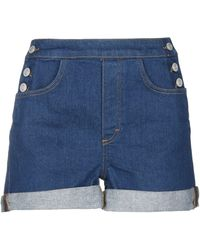 French Connection Denim Shorts - Blue