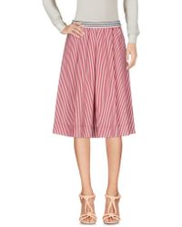 Department 5 - Knee Length Skirt - Lyst