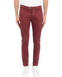 0/zero Construction Casual Trouser - Red
