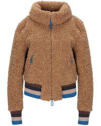 Marco De Vincenzo Teddy coat - Multicolore