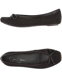 Jessica Simpson Ballet Flats - Brown