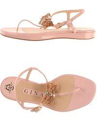 Gina - Toe Post Sandal - Lyst
