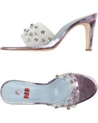 MR by Man Repeller Sandals - Pink