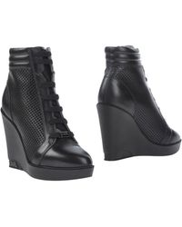 Karl Lagerfeld Ankle Boots - Black