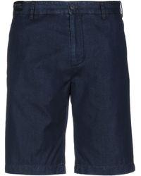 Paul & Shark Denim Shorts - Blue