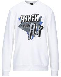Armani Exchange Sudadera - Blanco