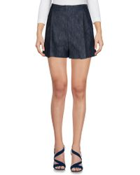Giamba - Denim Shorts - Lyst