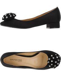Officine Generale Ballet Flats - Black