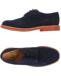 Mark McNairy New Amsterdam Lace-up Shoe - Blue