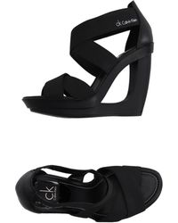 CK Calvin Klein - Sandals - Lyst