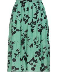 Plan C Midi Skirt - Green