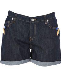 Alessandro Dell'acqua Denim Shorts - Blue