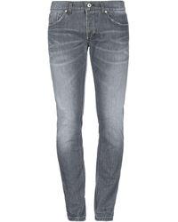 Dondup Pantaloni jeans - Grigio