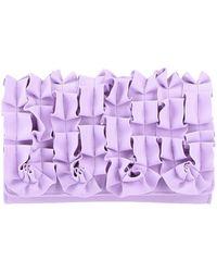 La Petite Robe Di Chiara Boni Handbag - Purple