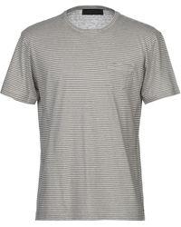 Les Copains Camiseta - Gris