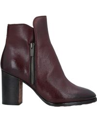 Barracuda Ankle Boots - Purple