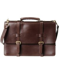 Lotuff Leather - Work Bags - Lyst