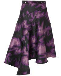 Marques'Almeida Midi Skirt - Multicolour