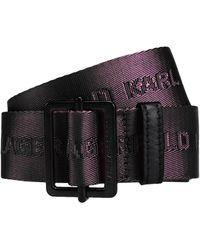 Karl Lagerfeld Belt - Black